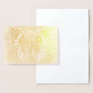 HAMbWG - Gold Foil Card - Butterfly