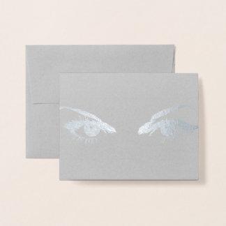 HAMbWG - Gold Foil Card - Eyes