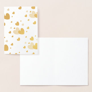 HAMbWG - Gold Foil Card - Hearts