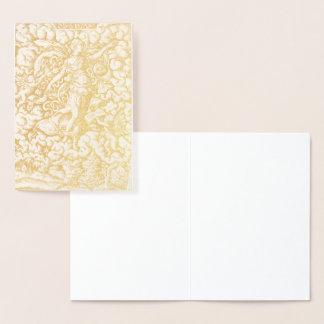 HAMbWG - Gold Foil Card - Virgil