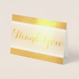 HAMbWG -  gold Foil Thank You Card