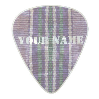 HAMbWG   Guitar Pics - Purple Bohemian Hipster Pearl Celluloid Guitar Pick