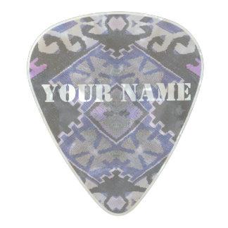 HAMbWG   Guitar Pics - Purple Southwest Design Pearl Celluloid Guitar Pick