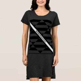 HAMbWG - Hanes ComfortSoft® Black Graphic Logo Dress