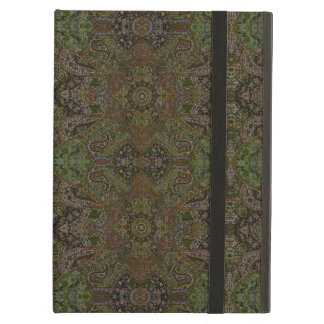 HAMbWG iPad  Case - Olive Persian