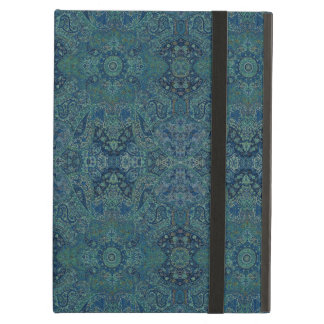 HAMbWG iPad  Case - Teal Persian