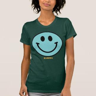 HAMbWG - Jersey - Aqua Smiley Emoji T-Shirt