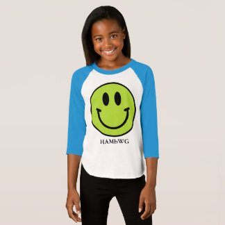 HAMbWG - Jersey - Lime Smiley T-Shirt