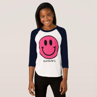 HAMbWG - Jersey - Pink Smiley T-Shirt