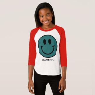 HAMbWG - Jersey - Teal Smiley T-Shirt