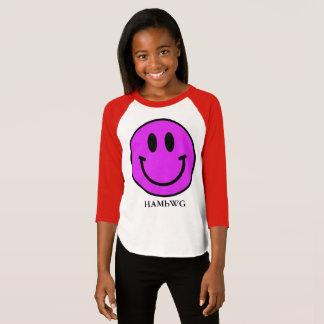 HAMbWG - Jersey - Violet Smiley T-Shirt