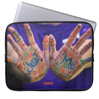 "HAMbWG - Just Me - 15"" Neoprene Laptop Sleeve"