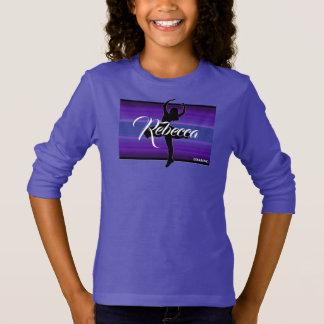 HAMbWG - Long Sleeve T - Purple Ballerina T-Shirt