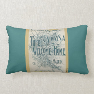 HAMbWG - Lumbar Pillow - Welcome Home