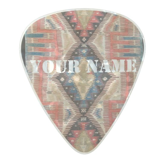 HAMbWG Med. Gauge  .80mm Guitar Pics Boho Turk Pearl Celluloid Guitar Pick