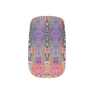 HAMbWG - Minx Nail Art - Bohemian Purple Pink