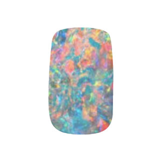 HAMbWG  Nail Design - Colorful Minx Nail Art