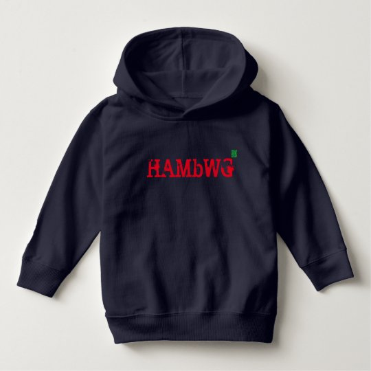 HAMbWG - Navy/Red Pullover Hoodie