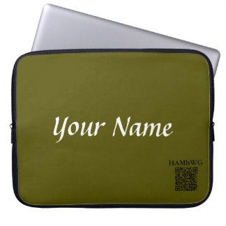 HAMbWG - Neoprene Laptop Case - Violet Personalize