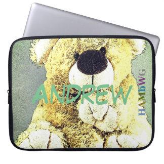 HAMbWG - Neoprene  Sleeve - Teddy Bear