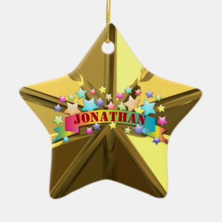 HAMbWG - Ornament - Star Shaped - Personalizable