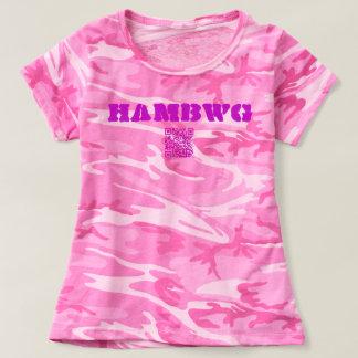 HAMbWG - Pink Camouflage T-Shirt