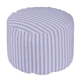 HAMbWG Pouf Chair - Lavender Fine Stripe
