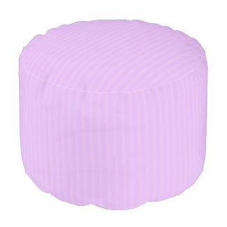 HAMbWG Pouf Chair - Lavender Stripe