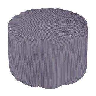 HAMbWG Pouf Chair - Lavender Stripes