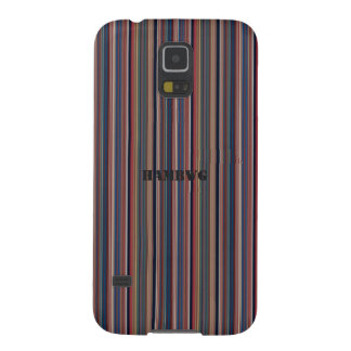 HAMbWG  - Samsung Cell Phone Case - Lines of Color