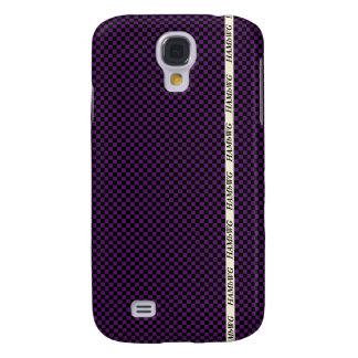 HAMbWG  - Samsung Cell Phone Case - Small Checker