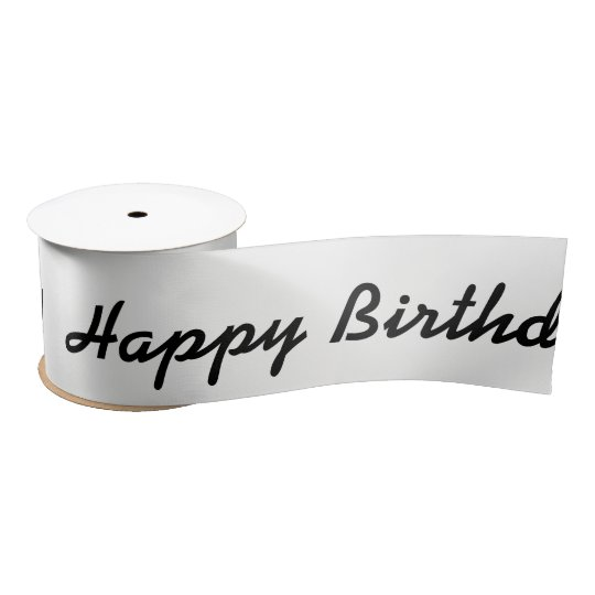 HAMbWG - Satin Ribbon -  Happy Birthday