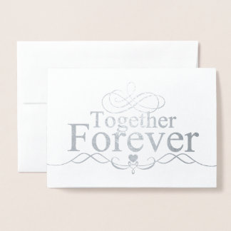 HAMbWG - Silver Foil Card - Together Forever