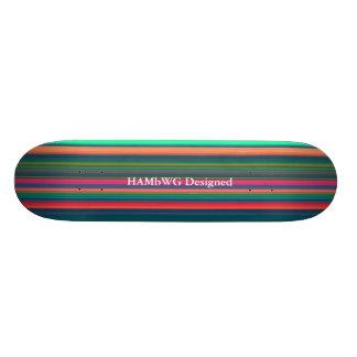 HAMbWG - Skateboards - Brilliant Stripes