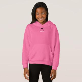 HAMbWG Smiley - 13 Colors - Girls' Fleece Hoodie