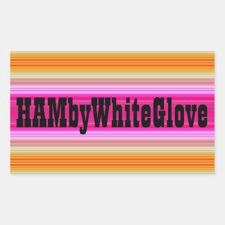 HAMbWG - Sticker - Pink Sunset Logo