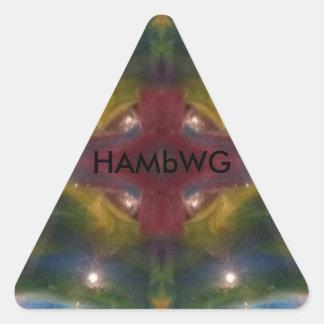 HAMbWG - Sticker - Psychadelic