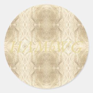 HAMbWG - Stickers - Gold Logo Image
