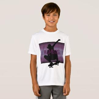 HAMbWG - T Shirt -  Amethyst  SkateBoarder