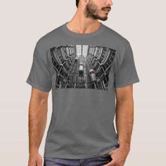 HAMbWG - T-Shirt - Architecture -  Elevators Lg