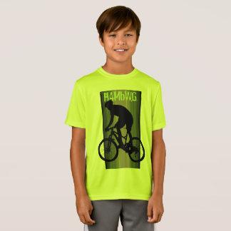 HAMbWG -  T Shirt -  Lemon-Lime -  Bike Rider