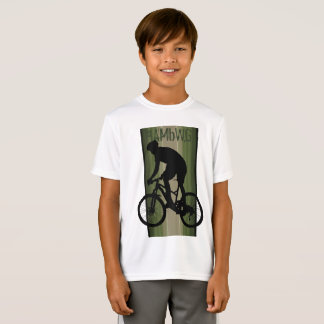 HAMbWG -  T Shirt -  Olive -  Bike Rider