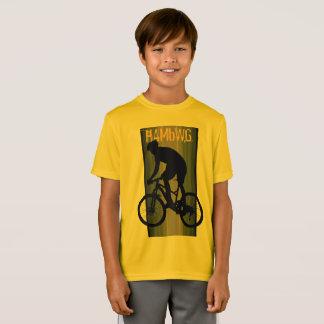HAMbWG -  T Shirt - Orange -  Bike Rider