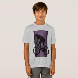 HAMbWG -  T Shirt -  Raspberry  Bike Rider
