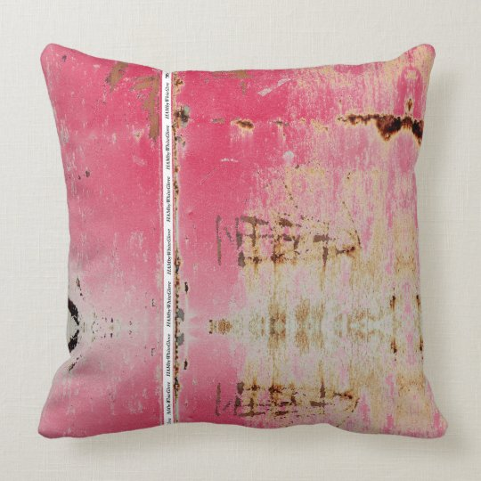 HAMbWG - Throw Pillow -Distressed 2 Colour