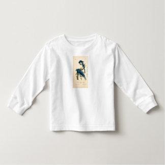 HAMbWG Toddler Blue Jay Long Sleeve T-Shirt
