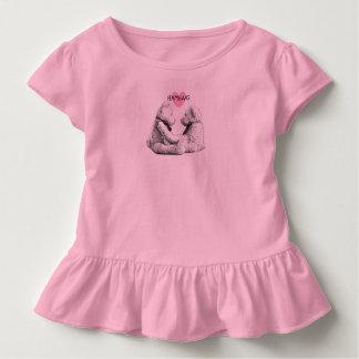 HAMbWG - Toddler Dress - Teddy Bear Love