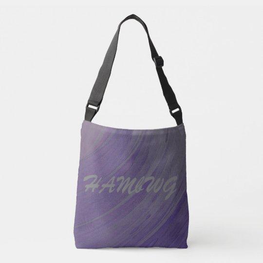 HAMbWG - Tote Bag - Amethyst Swirl HAMbWG Logo