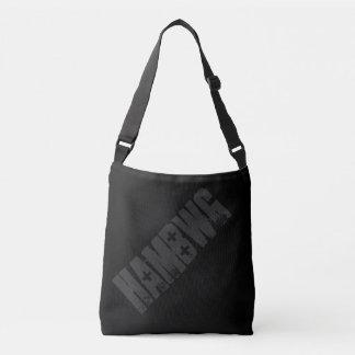HAMbWG - Tote Bag - Black/Charcoal HAMbWG Logo