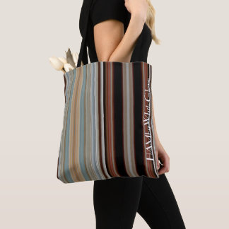 HAMbWG - Tote Bag - Day & Night Stripe